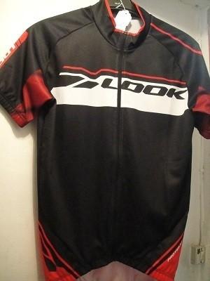 Maillot Proteam couleur Noir-Rouge textile été 2016 Look-Cycles Carvalho. Maillot  manches courtes Look textile 2016 modèle Proteam Noir-rouge visuel arrière bf90fbb696ee