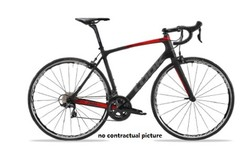 765 OPTIMUM BLACK GLOSSY MONTAGE SHIMANO 105 MIX ROUES SHIMANO LOOK 2019